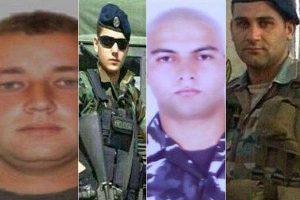 """هذه هي صور شهداء الجيش التي رفعها """"حزب الله"""" في غرفة عمليات النصرة"""