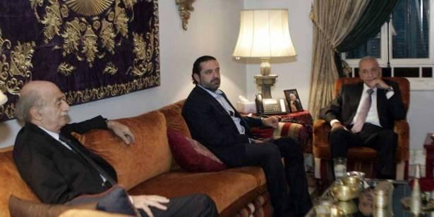 وقع الخلاف بين جنبلاط وارسلان وشهيب ينقل مراجعاته من عاليه الى الشويفات